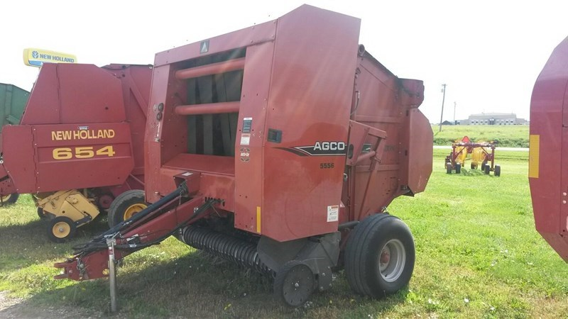 2008 Agco 5556 Baler-Round For Sale