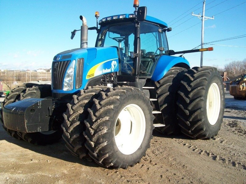 2008 New Holland T8050 Tractor For Sale