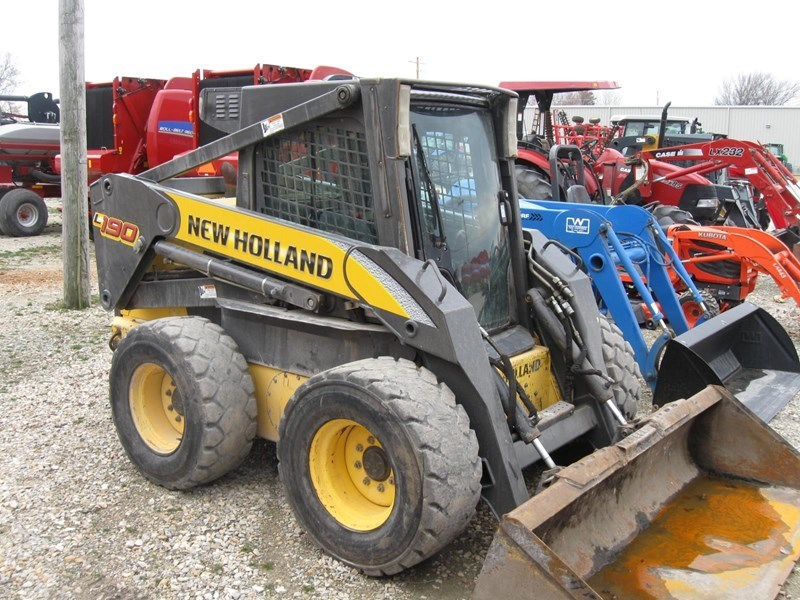 2008 New Holland L190 Skid Steer For Sale
