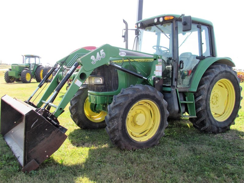 2005 John Deere 6420 Tractor For Sale