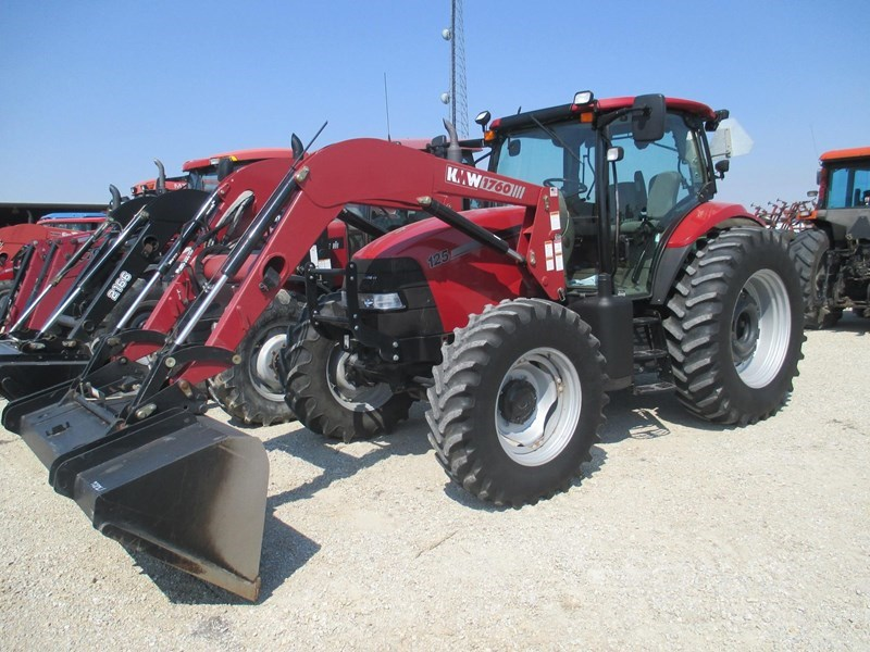 2009 Case IH MAXXUM 125 Tractor For Sale