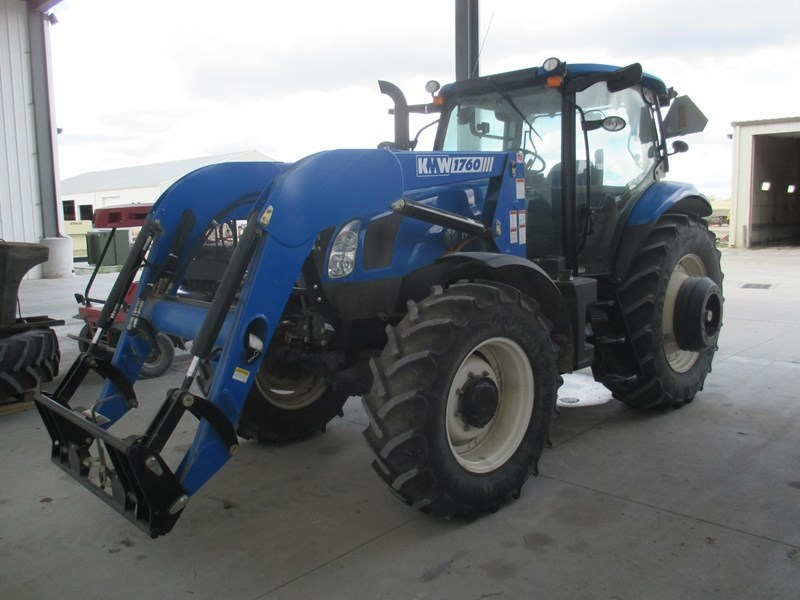 2012 New Holland T6.155 Tractor For Sale