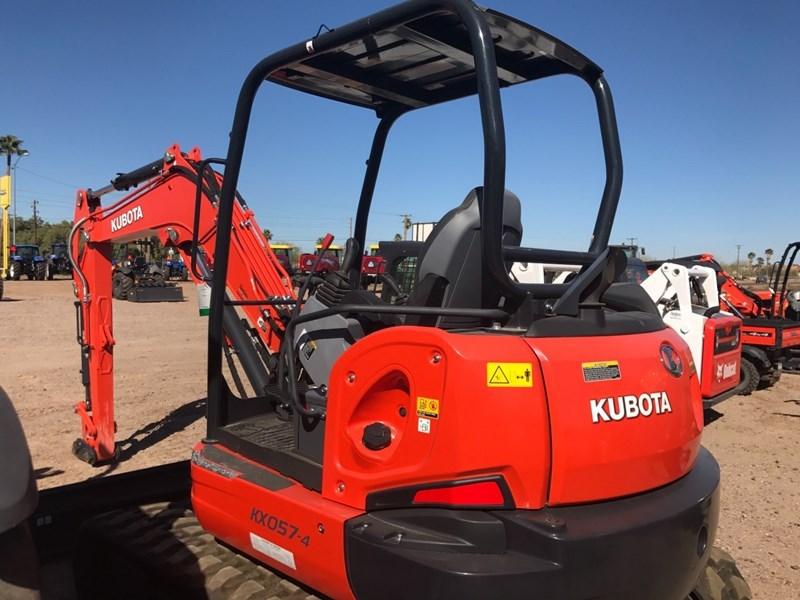 Kubota KX057-4R1A Excavator-Track