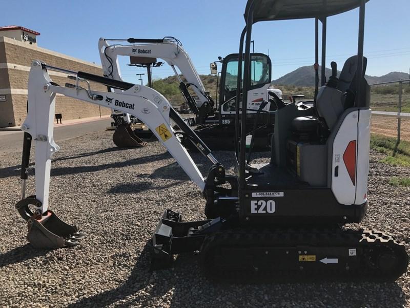 Bobcat E20 T4 Excavator-Track