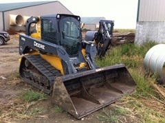 Skid Steer-Track For Sale:  2013 John Deere 333E