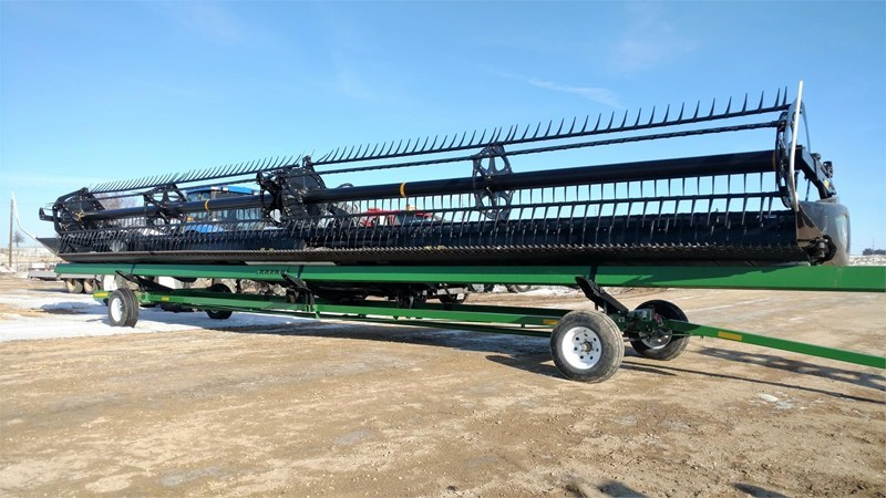 2015 MacDon FD75D Header/Platform For Sale
