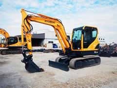 Excavator-Track  2016 Hyundai ROBEX 55-9A