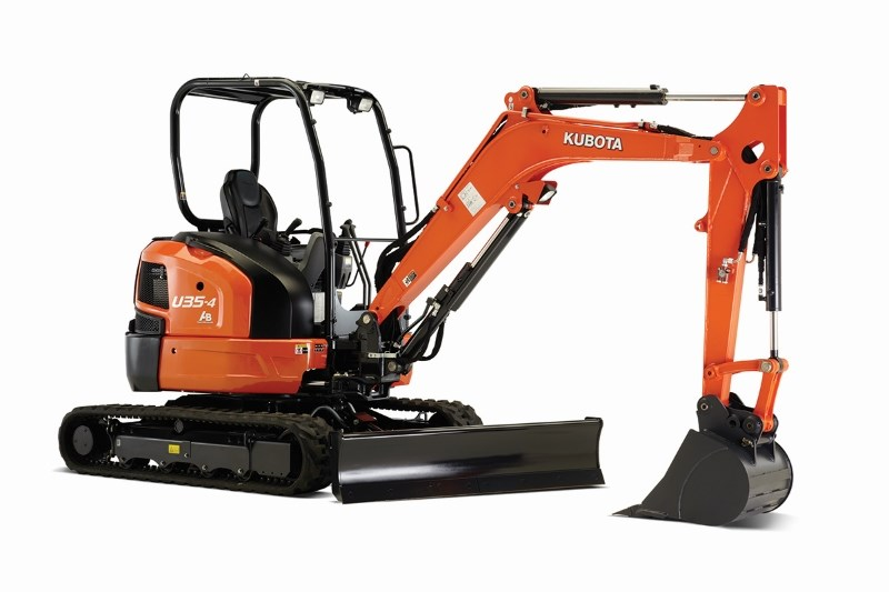 2018 Kubota U35 Excavator-Mini For Sale