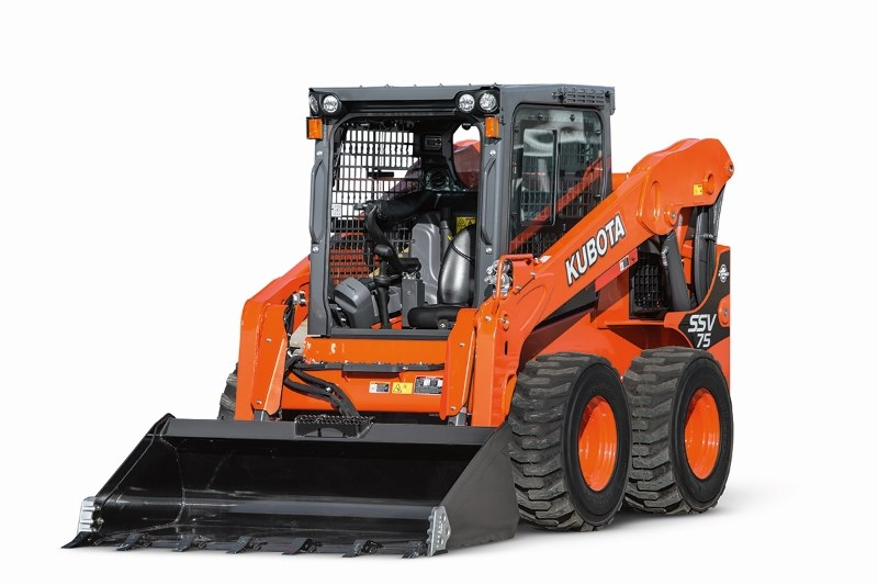 2018 Kubota SSV75 Skid Steer For Sale