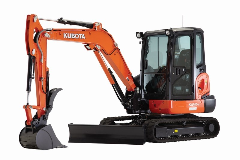2018 Kubota KX040-4 Excavator-Mini For Sale