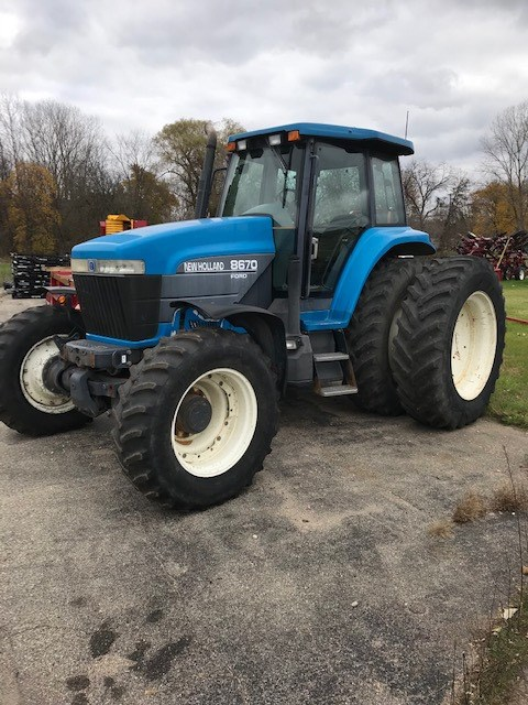 1999 New Holland 8670 Tractor For Sale