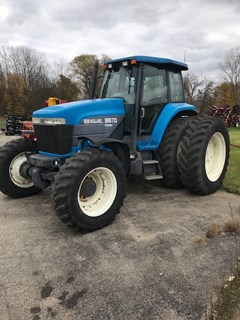 Tractor For Sale:  1999 New Holland 8670 , 145 HP