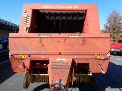 Baler-Round For Sale 1992 New Holland 660
