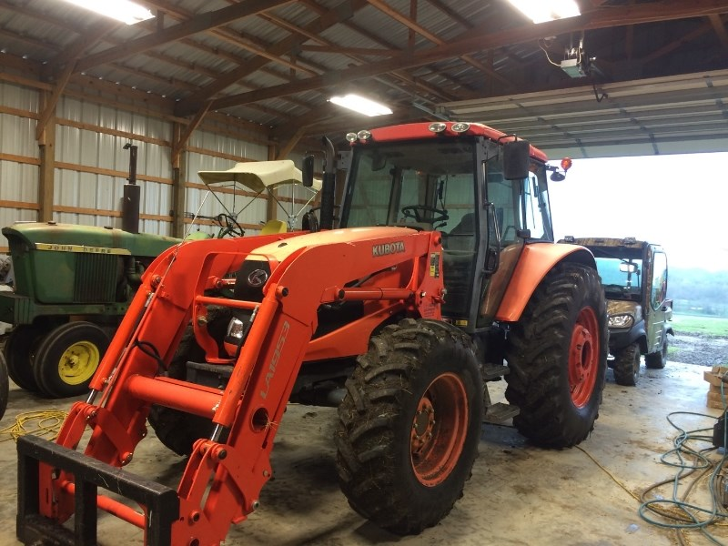 2010 Kubota M100X Tractor For Sale