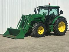 Tractor For Sale 2013 John Deere 6125R , 125 HP