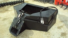Skid Steer Attachment For Sale:  Other Dispensing bucket w/ hyd. door for Skidsteers / tr