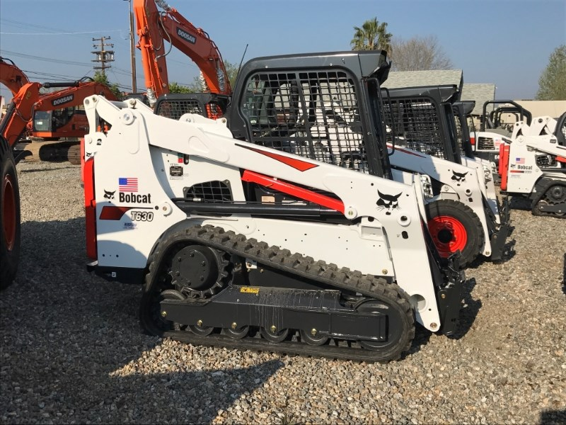 2018 Bobcat T630 Skid Steer Track For Sale Bakersfield Delano