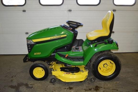 2015 John Deere X590 Riding Mower For Sale