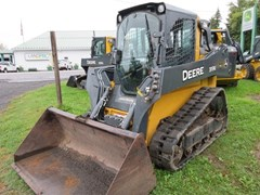 Skid Steer-Track For Sale 2015 John Deere 319E