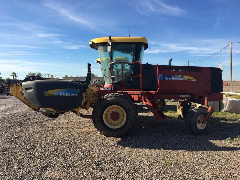 2007 New Holland H8040 Windrower-Self Propelled For Sale