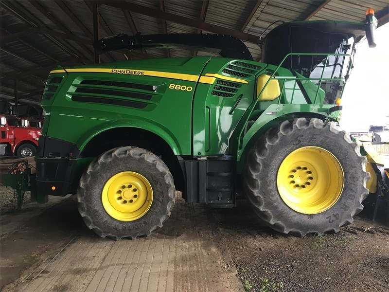 2016 John Deere 8800 Forage Harvester-Self Propelled For Sale