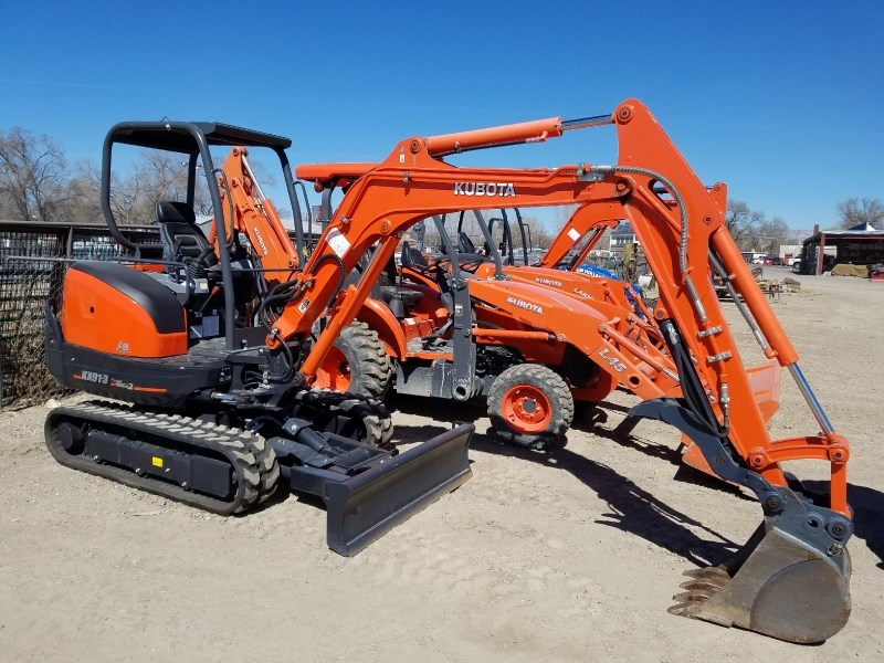 2016 Kubota KX91 Excavator-Mini For Sale