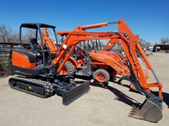 Excavator-Mini For Sale 2016 Kubota KX91 , 28 HP