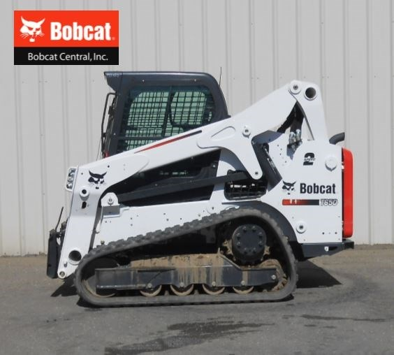 2016 Bobcat T650 Skid Steer-Track For Sale
