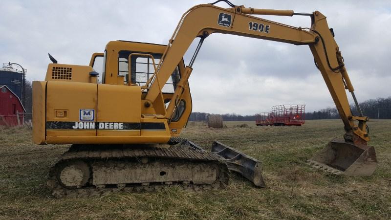 John Deere 190E Excavator-Track For Sale