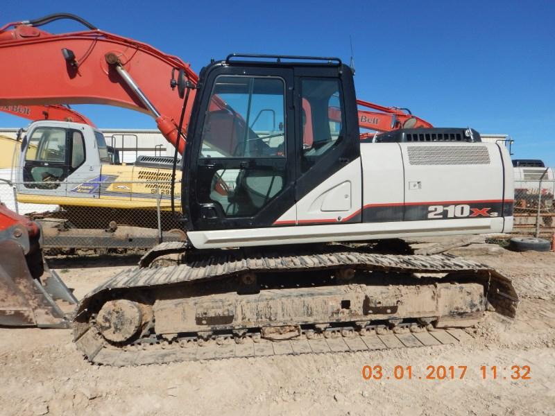 2016 Link Belt 210X3 Excavator-Track