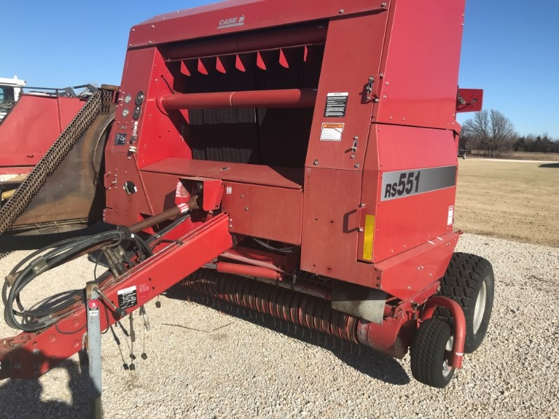 1999 Case IH RS551 Baler-Round For Sale