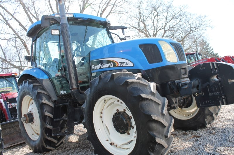2004 New Holland TS115A Tractor For Sale