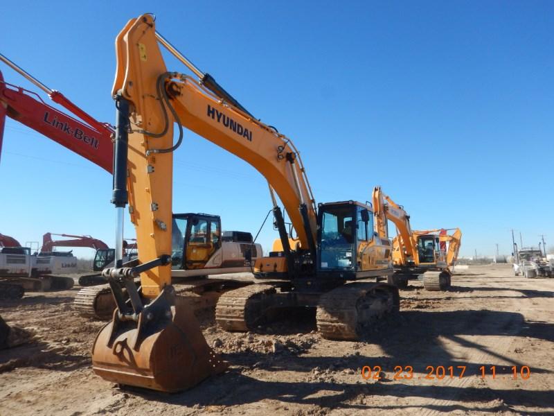 2016 Hyundai HX300L Excavator-Track