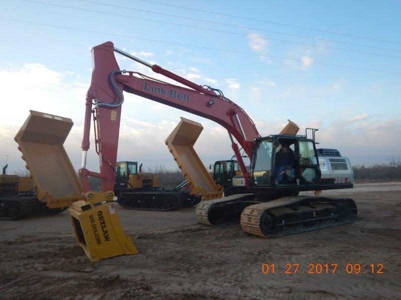 2017 Link Belt 300X4 Excavator-Track