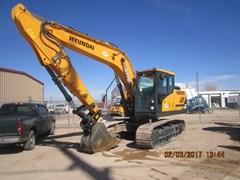 Excavator-Track  2016 Hyundai HX160L