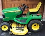 Riding Mower For Sale: 2008 John Deere X748, 24 HP