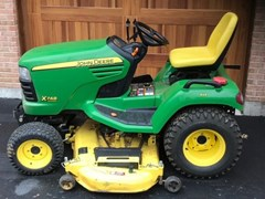 Riding Mower For Sale:  2008 John Deere X748 , 24 HP