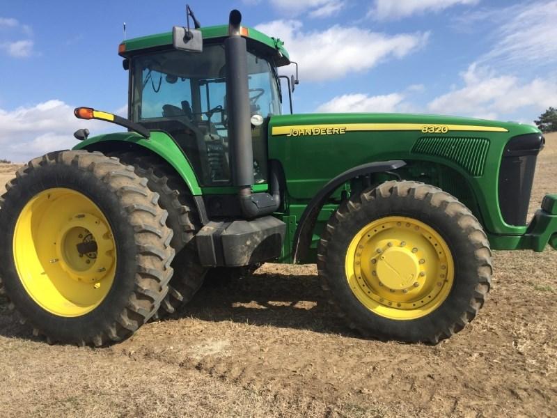 2004 John Deere 8320 Tractor For Sale