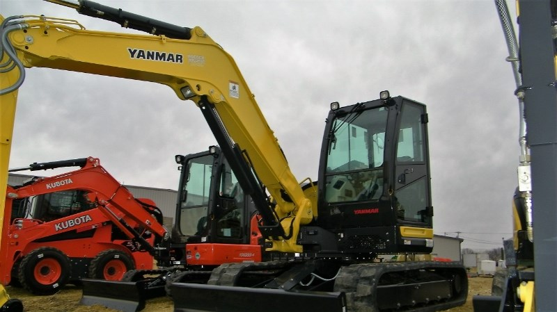 2017 Yanmar VIO80-1 Excavator-Mini For Sale