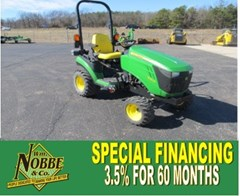 Tractor For Sale:  2013 John Deere 1025R , 24 HP