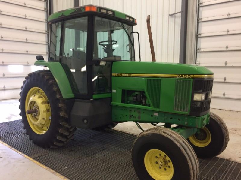1994 John Deere 7400 Tractor For Sale
