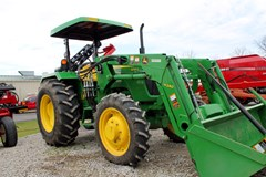 Tractor For Sale 2015 John Deere 5065E , 53 HP
