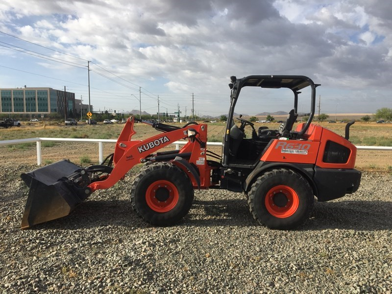 Kubota R630R41 Wheel Loader