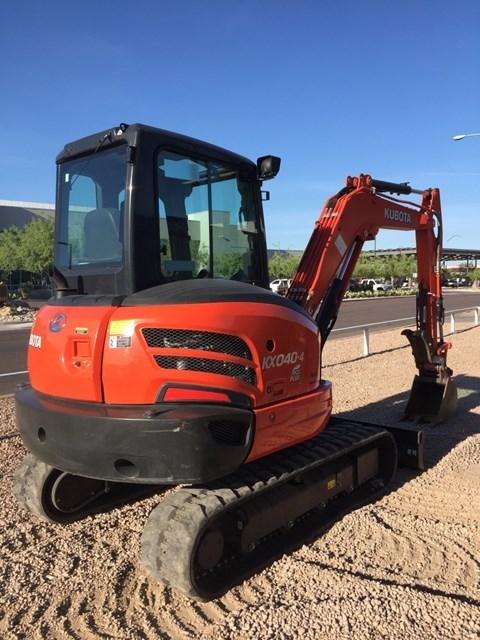 Kubota KX040-4R3 Excavator-Track