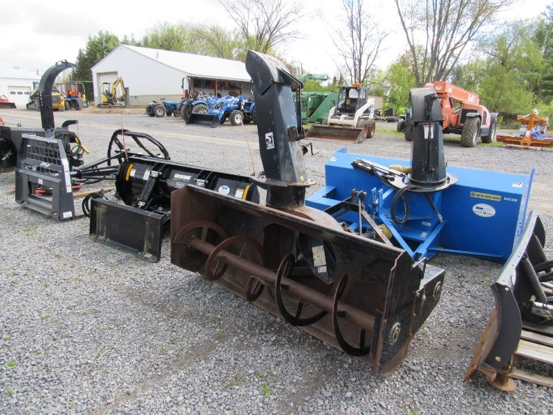 2003 New Holland 716C Snow Blower For Sale