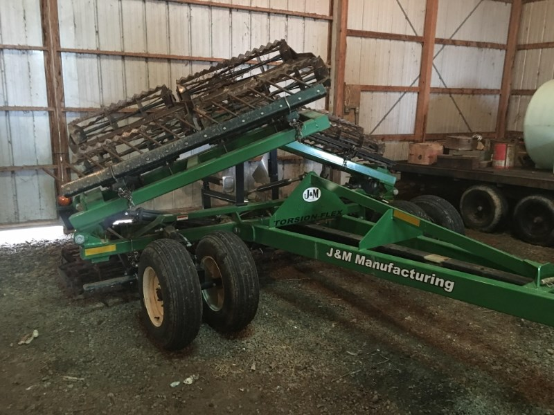 2011 J & M TF212/27FT Rolling Basket For Sale