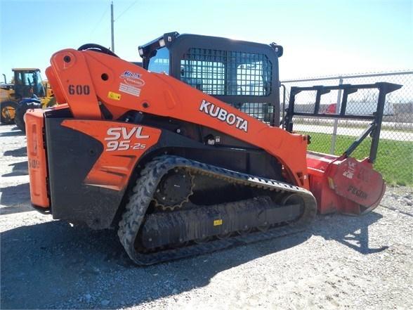 2016 Kubota SVL95-2S Skid Steer-Track