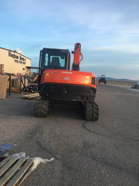 Kubota KX080-4R3A Excavator-Track