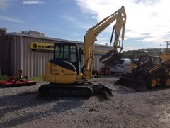 Excavator-Mini For Sale:  2016 New Holland E55BX , 37 HP