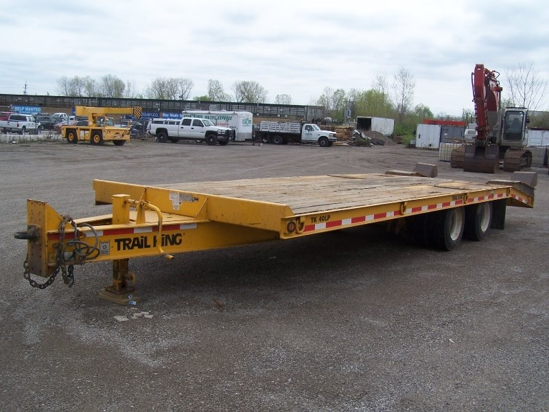 2012 Trail King TK40LP Equipment Trailer For Sale